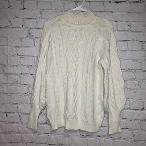 Workshop Knit Mock Neck Sweater